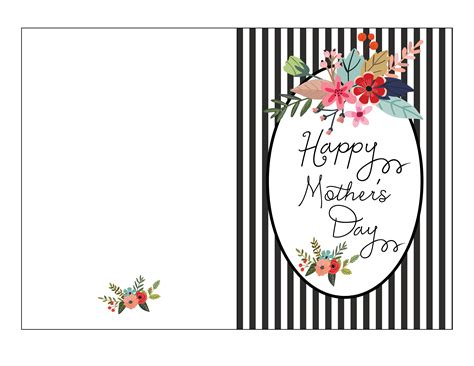 mothersday card template free s day card printable fab fatale
