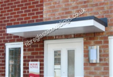 fibreglass awnings door canopies grp fibreglass entrance canopies uk
