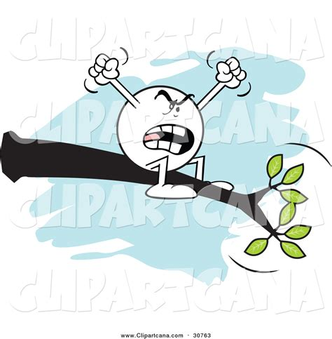 out on a limb free cartoon clip art of a complaining moodie character