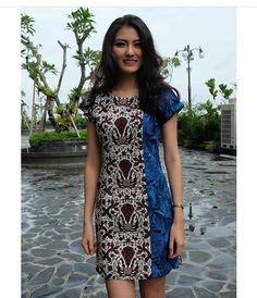 Anika Cheongsam Batik Dress pin by nurani pratiwi on lulu lutfi labibi