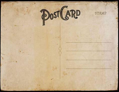 charm card template vintage postal charm vintage postcards invitation