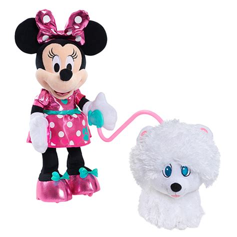 minnie mouse walk and play puppy minnie s walk and play puppy the insider