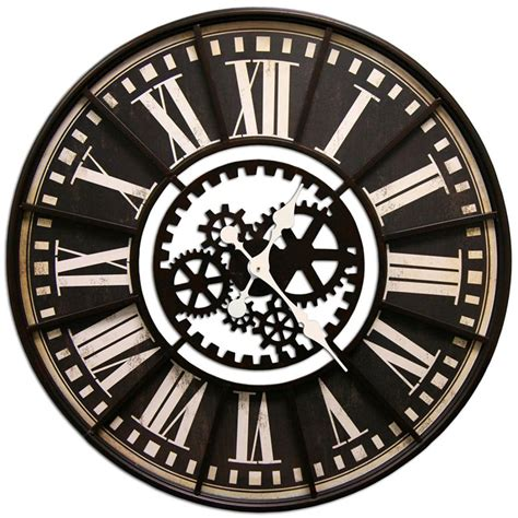 decorative wall clock extra large decorative wall clocks benefit