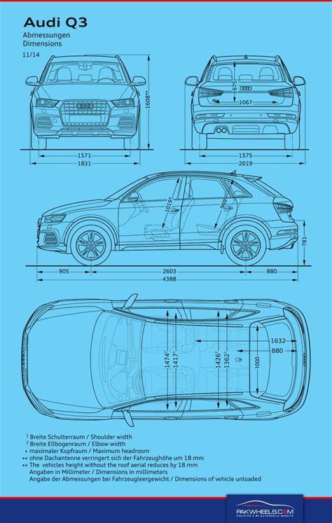 2019 audi q3 dimensions audi q3 dimensions car comparisons pakwheels audi q3