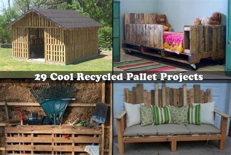 cool pallet projects cabin made by from 19 wooden pallets