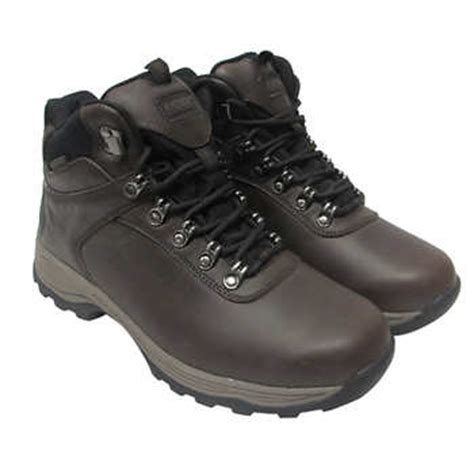costco boots khombu men s leather boot brown