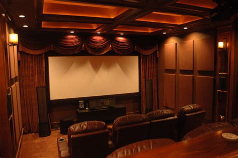 soundsuede acoustical panels traditional home theater - Media Room Acoustic Panels
