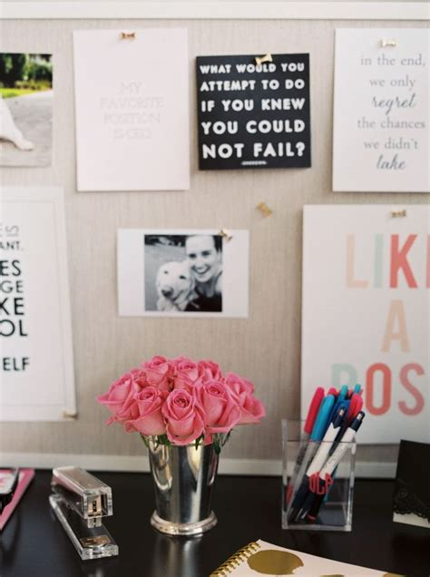office decoration items office space essentials office decor theeverygirl the
