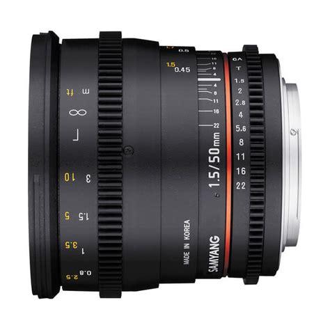 Samyang For Sony 35mm T1 5 Vdslr samyang 50mm t1 5 vdslr as umc lens for sony e mount