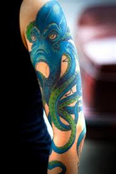 tattoo octopus color tattoo arm tattoo chest tattoo animal octopus tattoos and meanings octopus tattoo designs squid
