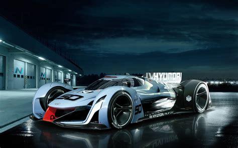 hyundai supercar concept 2015 hyundai n 2025 vision gran turismo wallpaper hd car