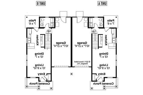 Single Story Duplex Floor Plans by Duplex Floor Plans Single Story 22 Photo Gallery House