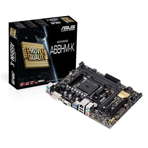 Diskon Motherboard Asus A68hm Plus Socket Fm2 asus a68hm k amd micro atx motherboard socket fm2