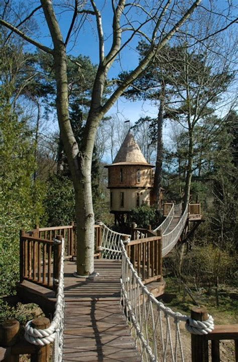 treehouse castle this family lives in a tree house that looks like a castle