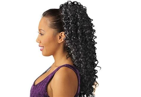 drawstring ponytails for black women drawstring ponytail hairstyles for black hair onetrend