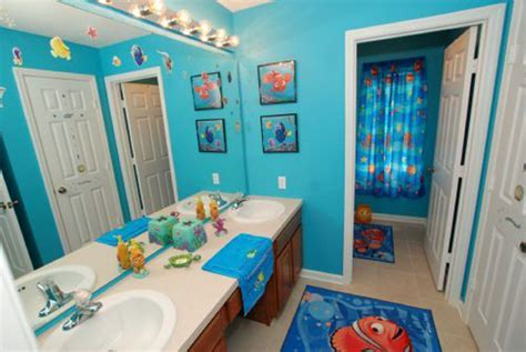 kid bathroom decorating ideas 10 finding nemo themed bathroom for house design and decor