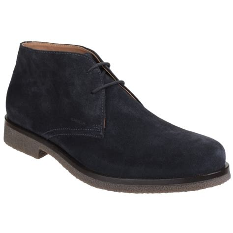 Casual Suede Navy geox claudio mens leather casual desert boots navy buy