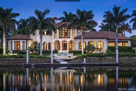 balinese coastal mansion resurrection in florida by k2 15 9 million mediterranean waterfront mansion in naples