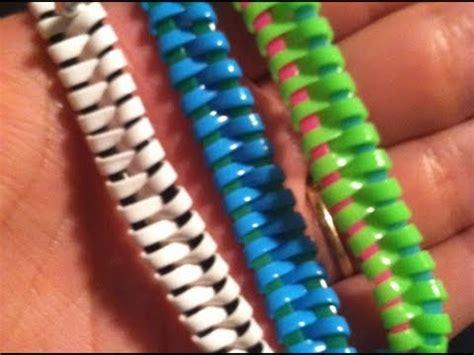 gimp zipper tutorial gimp bracelet youtube
