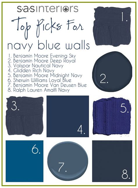 Needlepoint Navy top paint picks for navy blue walls jenna burger