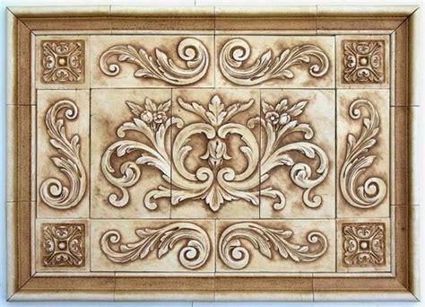 decorative tile inserts kitchen backsplash andersen ceramics backsplash murals and designs for hand
