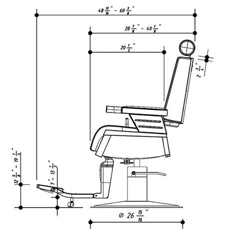 Hair Cutting Chair Dimensions   Chairs & Seating