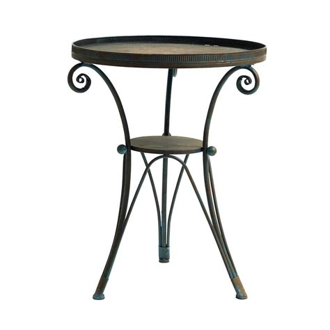 metal patio table with by out there exteriors