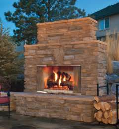 Patio Wood Burning Fireplace by Montana Wood Burning Outdoor Fireplace