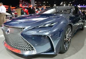 the lexus lf fc is a hydrogen powered future machine lexus