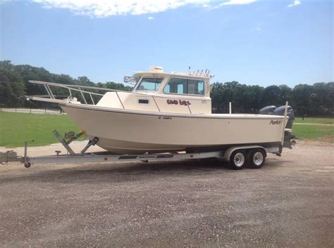 used sport fishing boats for sale bc 2002 used parker 2520 xl sport cabin freshwater fishing