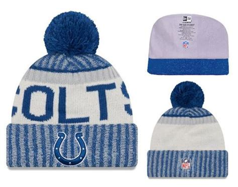 Wholesale Nfl Indianapolis Colts Logo Stitched Knit