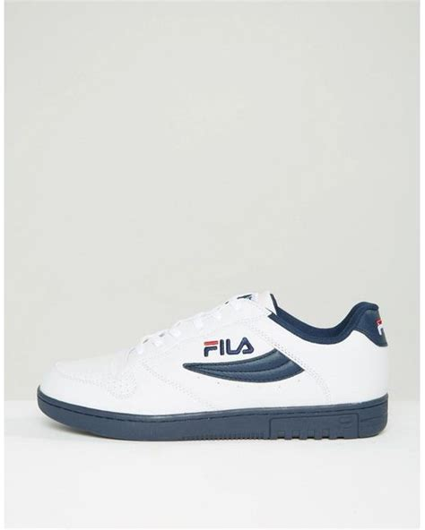 Fila Fx 100 Low Trainers fila fx 100 low trainers in white for lyst
