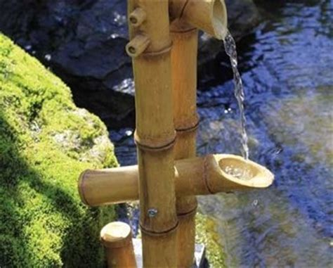 bamboo aquascape aquascape deer scarer bamboo fountain w pump decorative water features part