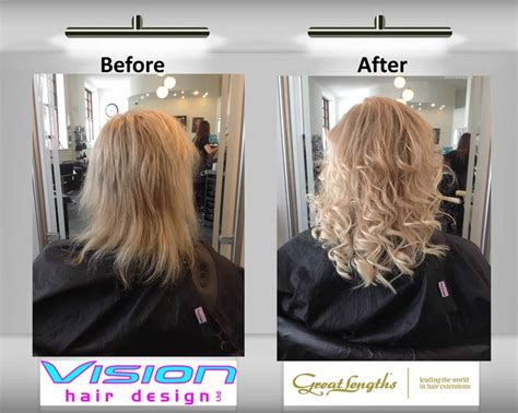great lengths fusion hair extensions pin by vision hair design ltd on great lengths hair