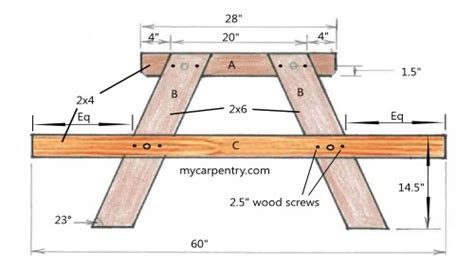 free folding picnic table bench plans pdf woodworking plans folding picnic table woodworking