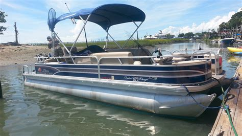 tracker pontoon boats sun tracker xp3 2015 for sale for 26 000 boats from usa