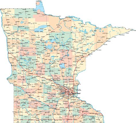 minnesota state map minnesota road map mn road map minnesota highway map