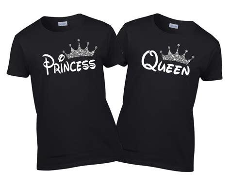 Kaos Nrf Grey Big Font Yellow disney king prince princess shirt family vacation