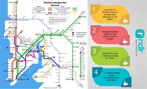 Explore Mumbai local train maps