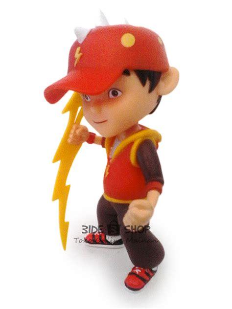 Figure Koleksi Mainan Pajangan Bobo Boy jual boboiboy petir figure boboi boy orange bide