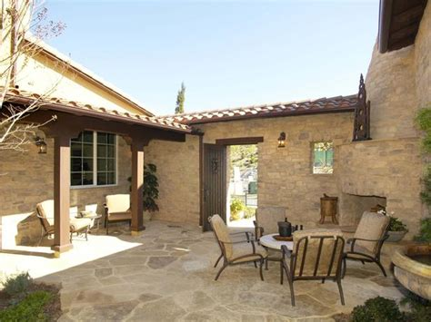 adobe house plans with courtyard cozy southwestern courtyard the small roof and sheltered