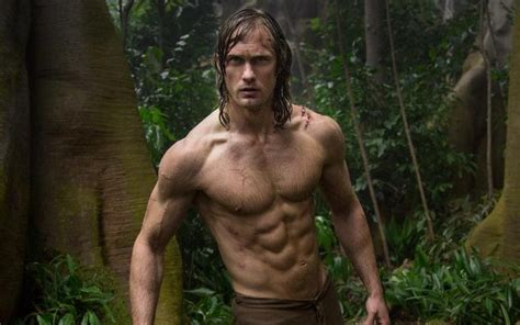 who is actress that plays jane in tarzan geico commercial all new tarzan alexander skarsg 229 rd on loincloths his
