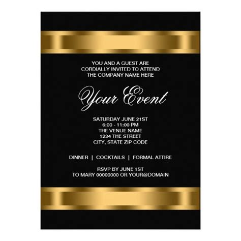 Event Invitations Templates by Professional Invitation Template Invitation Template