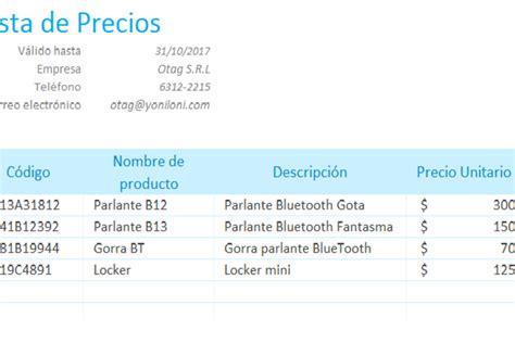 lista de precios de abb en colombia 2014 voltimumcomco lista de precios en excel lista de precios en excel