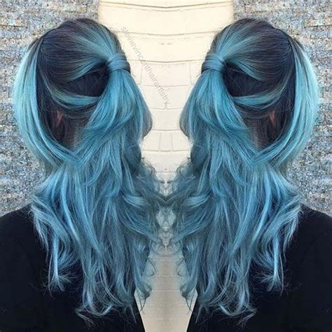 is ombre blue hair ok for older women 25 best ideas about teal hair color on pinterest