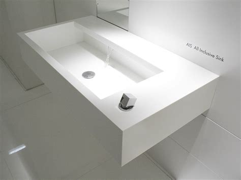 corian handwaschbecken wall mounted corian 174 washbasin ais by moab 80 design