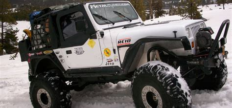 Jeep Yj Armor Jeep Wrangler Yj Fenders And Armor 87 95