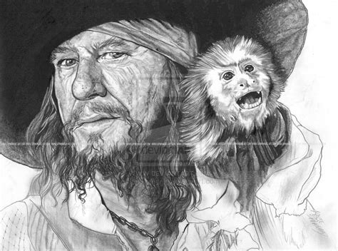 cursed pirate coloring book books barbossa sketch style by lupinemagic on deviantart