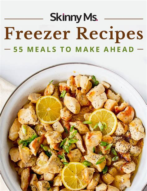Make Ahead Detox Lunches by Freezer Recipes 55 Meals To Make Ahead Makeaheadmeals