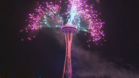 new years day seattle the fireworks seattle rings in 2017 s new year s at